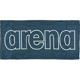 arena Gym Smart Towel navy-white